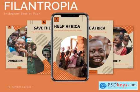 Filantropia - Instagram Story Pack