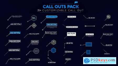 Videohive Call Out Pack 23253583