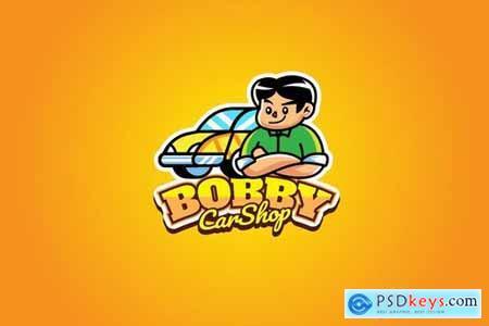 Car Shop - Mascot Logo