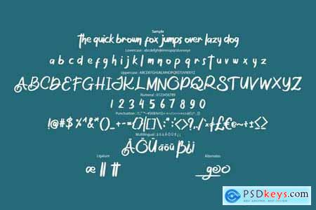 The Osage Stylish Display Font 4458927