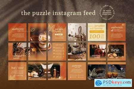 Autenthic Coffee Cafe - Instagram Puzzle