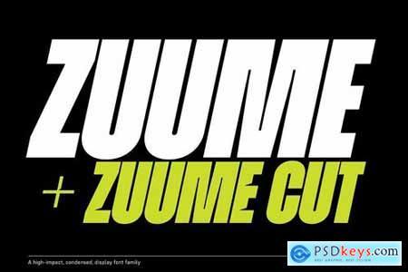 Zuume Font Family 4445344