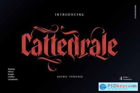 Cattedrale Gothic Blackletter 4442363