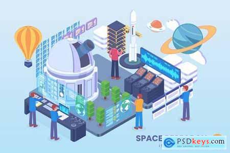 Isometric Vector Concept Pack