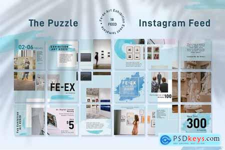 Exhibition Instagram Puzzle
