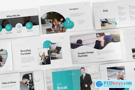 Creative Agency Powerpoint Google Slides and Keynote Templates