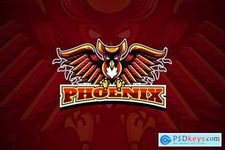 Esports Phoenix - Mascot Logo