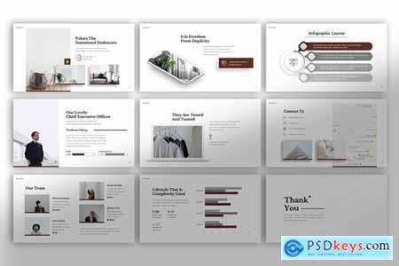 Minimalism Powerpoint Google Slides and Keynote Templates