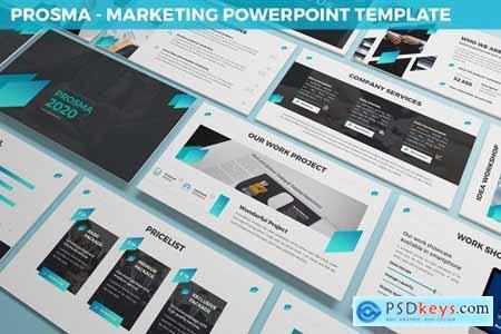 Prosma - Marketing Powerpoint Template
