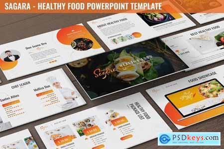 Sagara - Healthy Food Powerpoint Template
