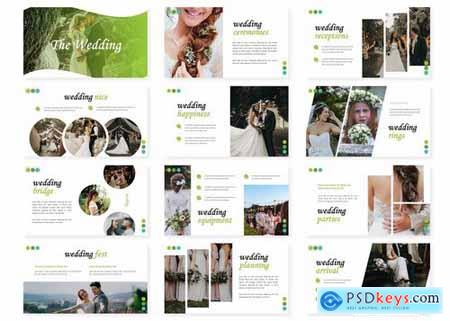 The Wedding - Powerpoint Google Slides and Keynote Templates