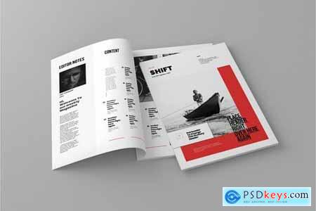 Shift - Magazine Template