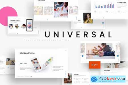 Universal - Education Powerpoint Google Slides and Keynote Templates