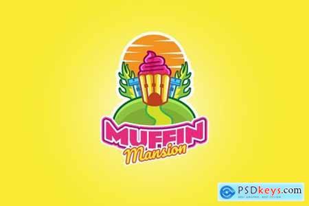 Muffin - Mascot Logo