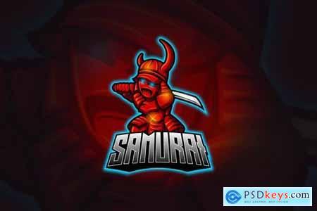 Samurai - Mascot & Esport Logo