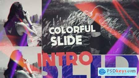 Videohive Colorful Slide Intro 16252873