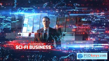 Videohive Sci-Fi Business Slideshow 21874773