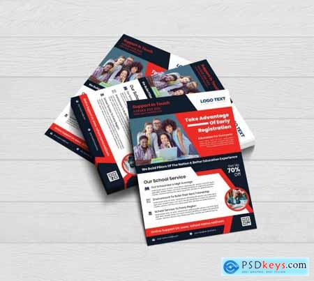 Admission Flyer Templates 4409517