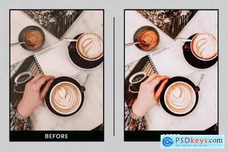 Lightroom Presets Caramal Coffee 4411213