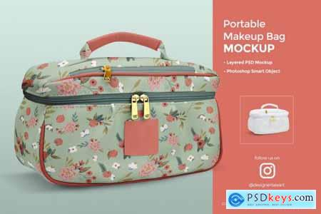 Portable Makeup Bag Mockup 4408020