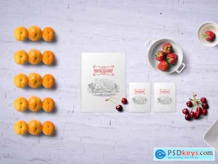 Fruits Mockup