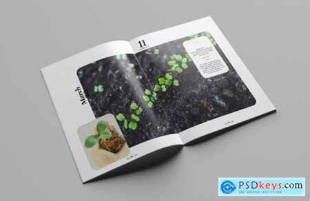 Multipurpose creative portfolio magazine