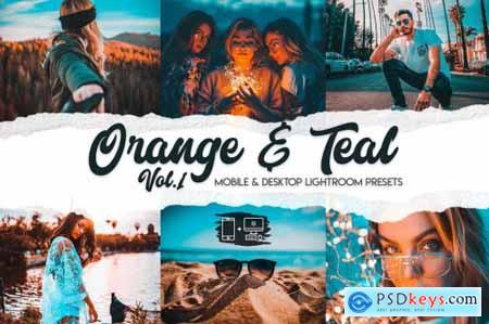 Orange & Teal Lightroom Presets Vol. 1