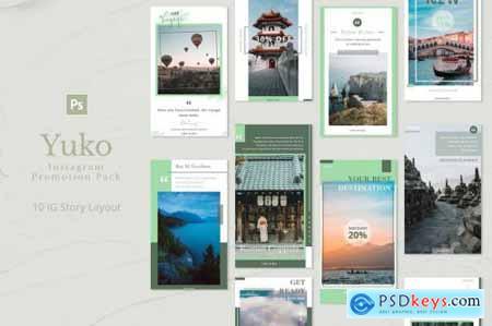 Yuko - Instagram Story Pack