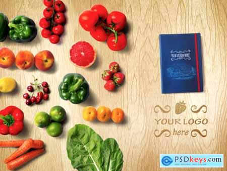 Organic Food Mockup 2