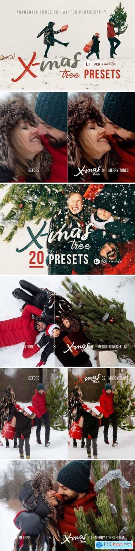 Christmas Tree - 20 Winter Presets 4457878