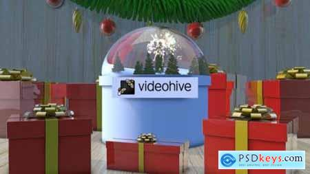 Videohive Christmas Magic Logo 24990140