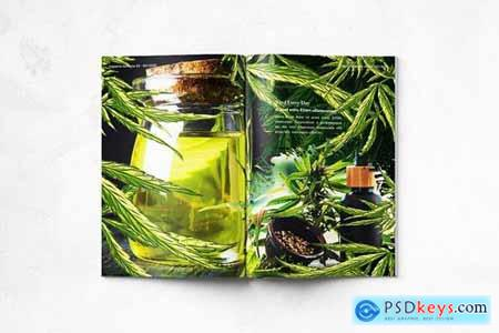 CBD Hemp Oils Magazine - A4 & US Letter - 22 pgs