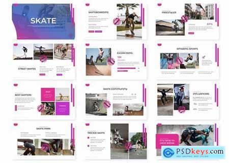 Skate - Powerpoint Google Slides and Keynote Templates