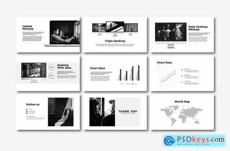 Qacau - Powerpoint Google Slides and Keynote Templates