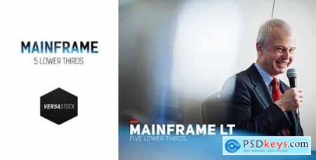 Videohive Mainframe LT 10802289