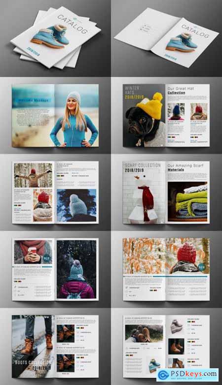 Fashion Product Catalog Layout 231050362