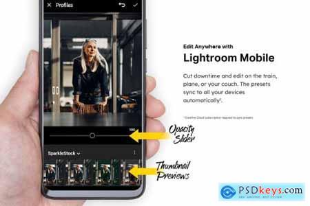 50 Hustle Lightroom Presets and LUTs 4438267