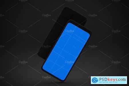 Dark Pixel 4 mockup 4436515