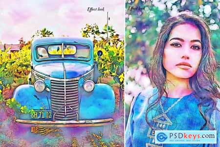 Digital Painting Photoshop Action 4405590