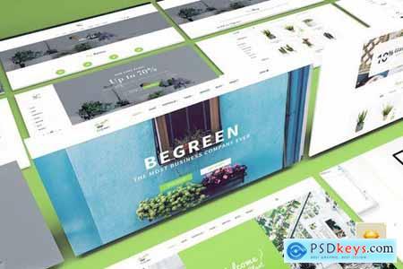 BeGreen - Multipurpose Planter Sketch Template