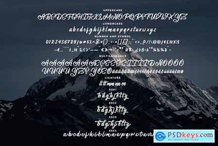 Brightsome - Script Font 4462746