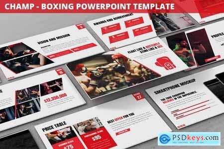 Champ - Boxing Powerpoint Template