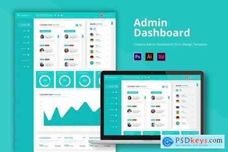 Chainzpro Admin Page Template