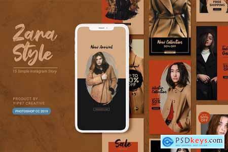 Fashion Store Instagram Stories