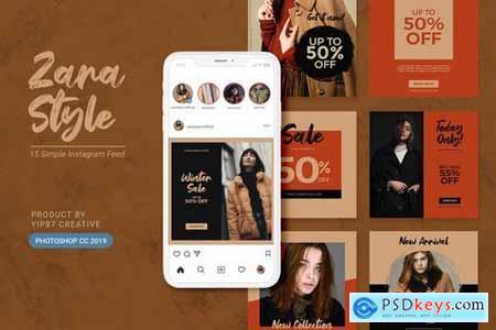Fashion Store Instagram Feeds