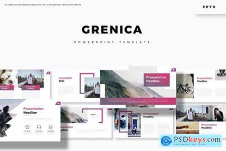 Grenica - Powerpoint Google Slides and Keynote Templates