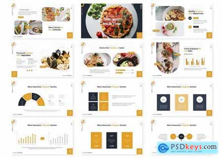Pizziano - Powerpoint Google Slides and Keynote Templates