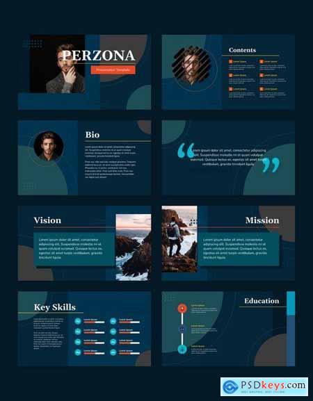 PERZONA (DARK) - Curriculum Vitae Presentation