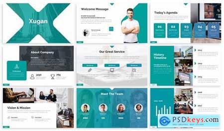 Xugan - Creative Agency Powerpoint Template