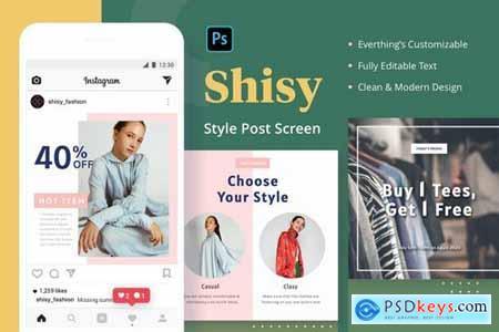 Shisy Web Design Elements